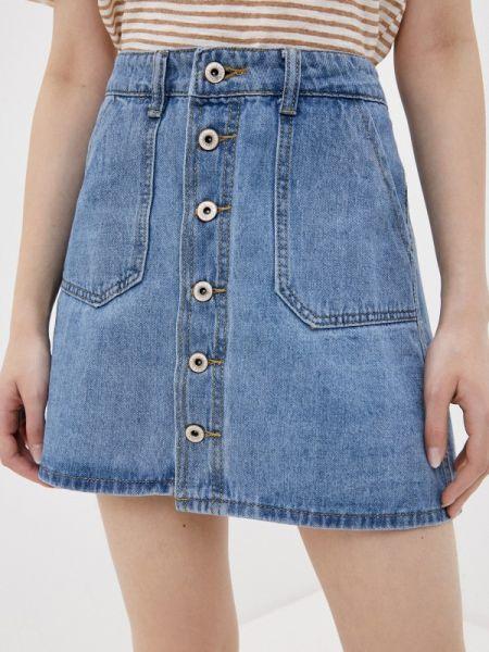 Синяя джинсовая юбка Haily's