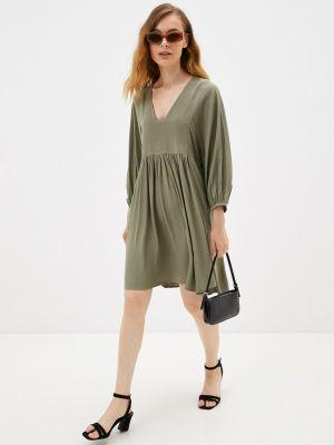 Прямое платье - зеленое Mbym