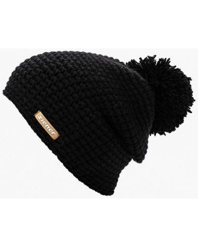 Черная шапка осенняя Ziener
