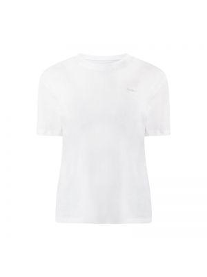 Biały koszula jeansowa bawełniany Pepe Jeans