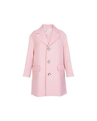 Розовое пальто осеннее Valentino Red
