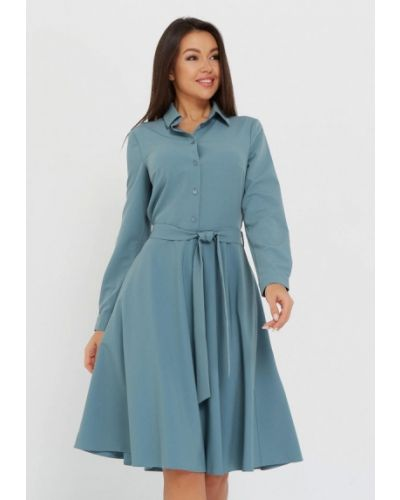 Бирюзовое платье A.karina