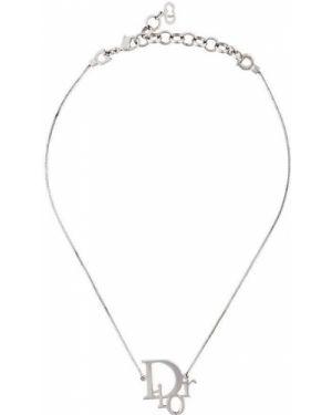 Подвеска - серебряная Christian Dior Pre-owned