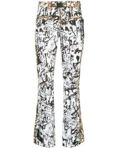 Прямые брюки с воротником с поясом Kru