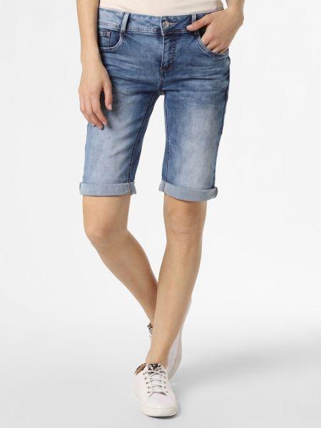 Niebieskie szorty jeansowe Street One