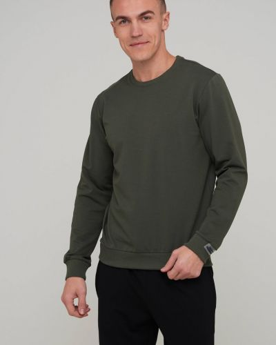 Зеленый свитшот Trend Collection
