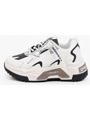 Низкие кроссовки - белые Crosby