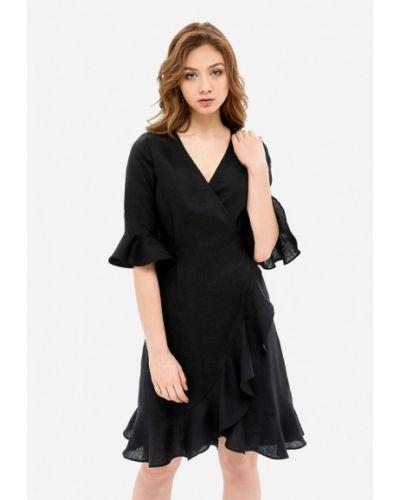 Черный домашний халат Morandi