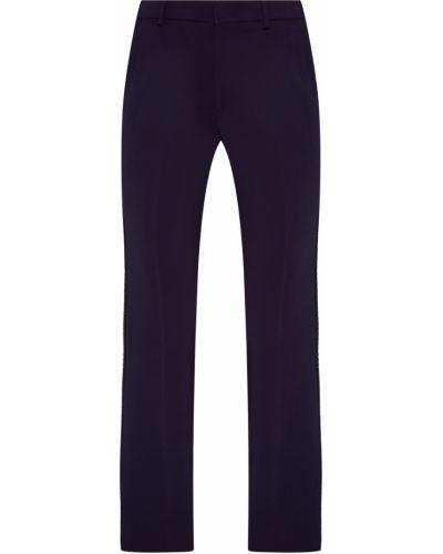 Укороченные брюки со стрелками расклешенные Gucci