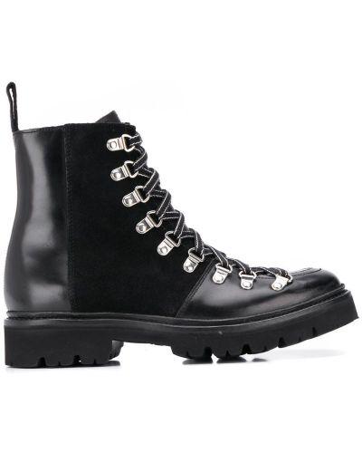 Ботинки черные черные Grenson