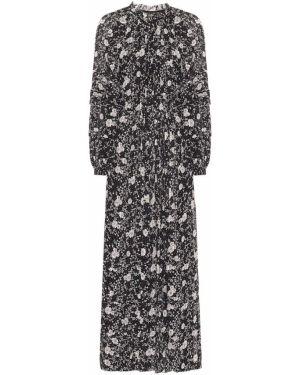 Платье макси с цветочным принтом шелковое Isabel Marant Etoile