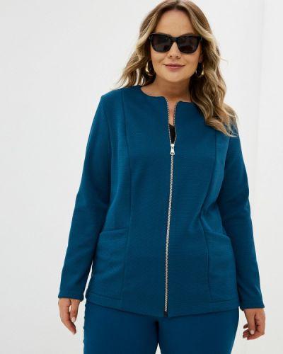 Синий весенний костюм Prewoman