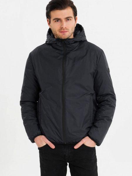 Теплая синяя утепленная куртка Lab Fashion