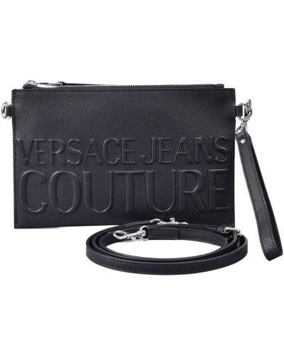 Czarna kopertówka Versace Jeans Couture