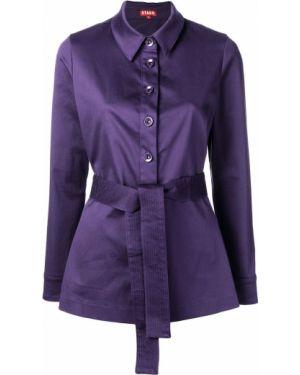 Фиолетовый пиджак Staud