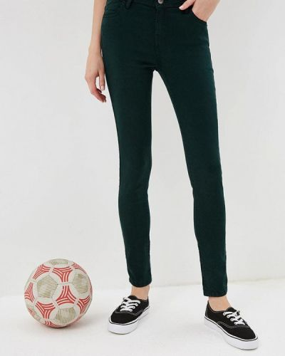Зеленые брюки зауженные Ovs