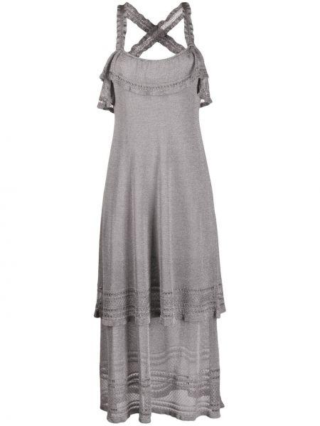 Платье миди на бретелях с люрексом M Missoni
