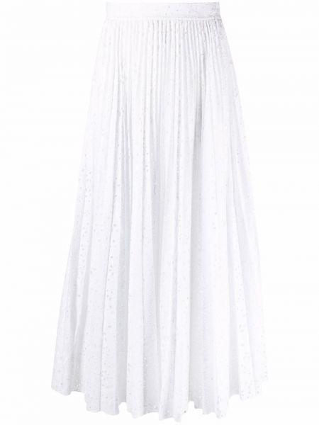 Белая юбка английская Elie Saab
