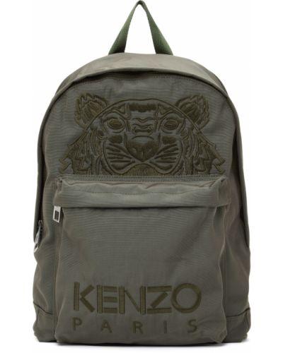 Plecak z haftem - czarny Kenzo