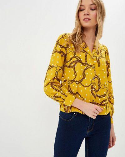 Блузка с длинным рукавом медицинская желтый Dorothy Perkins