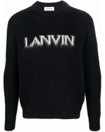 Sweter moherowy - biały Lanvin