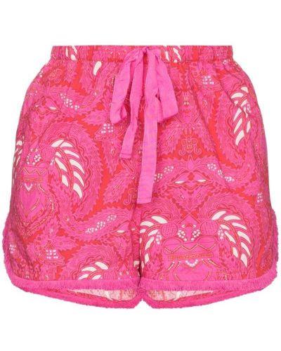 Розовые шорты с карманами Figue