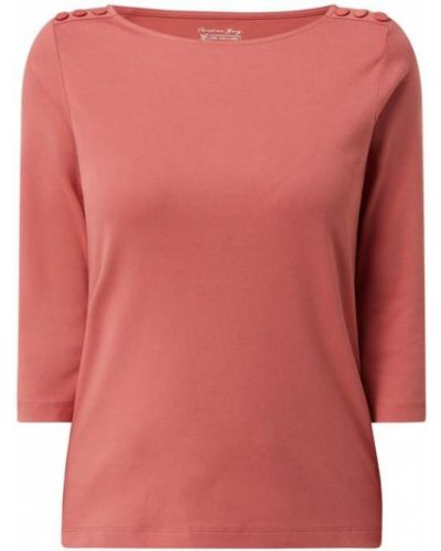 Różowa bluzka bawełniana Christian Berg Women