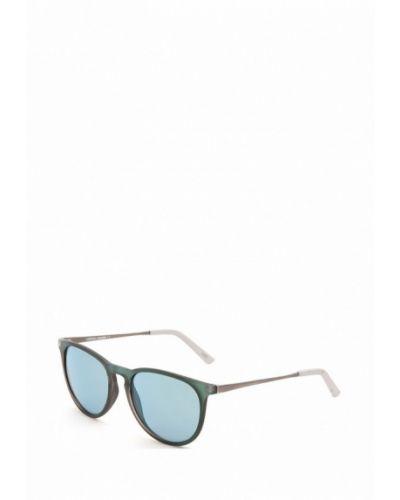 Бирюзовые солнцезащитные очки Mario Rossi