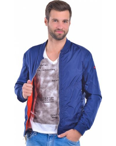 Ветровка оранжевый синий Armani Jeans