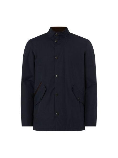 Niebieska kurtka bawełniana Barbour
