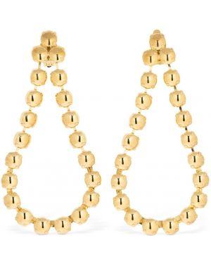 Złote kolczyki sztyfty pozłacane Ca&lou