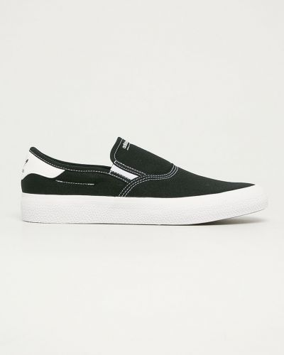 Czarne trampki slip on Adidas Originals