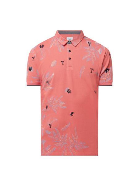 Różowy t-shirt bawełniany A Fish Named Fred