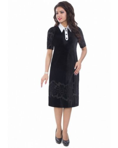 Черное платье Wisell