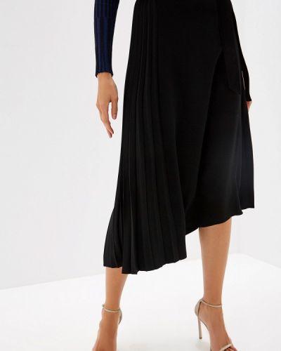 Плиссированная юбка черная итальянский Pinko