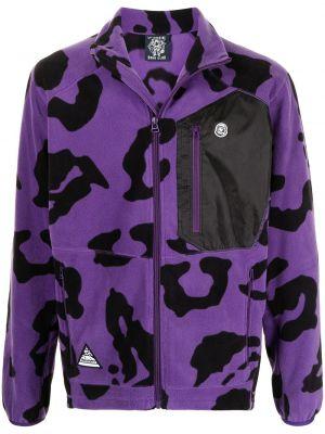Фиолетовая длинная куртка Billionaire Boys Club