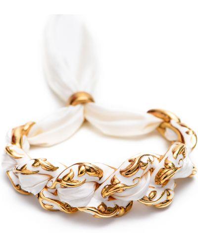 Серебряный браслет из золота золотой Graziella