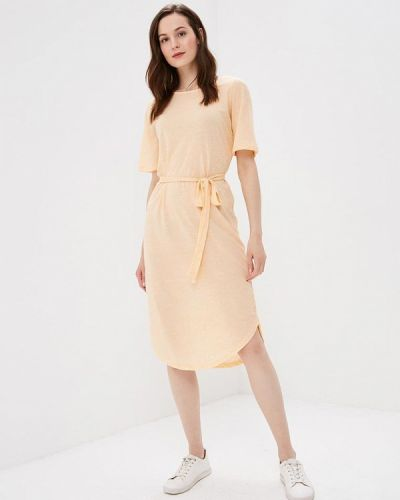 Платье весеннее желтый Selected Femme