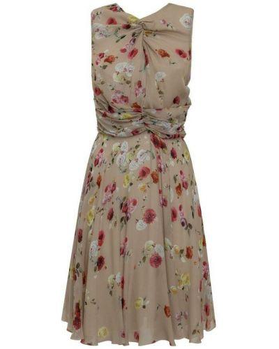 Różowa sukienka midi Anna Molinari