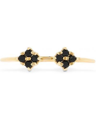 Żółty złoty pierścionek kaskadowy Lil