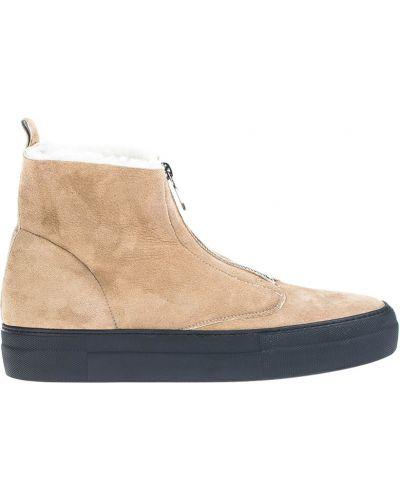 Ботинки осенние замшевые Loriblu