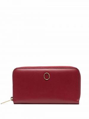 Красный кожаный кошелек Orciani