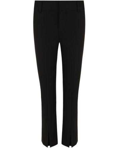 Черные укороченные брюки Alice + Olivia
