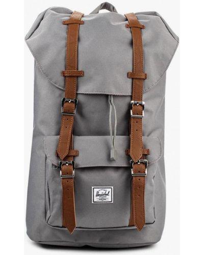 Рюкзак серый из искусственной кожи Herschel Supply Co