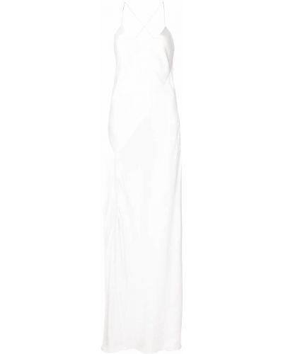 Платье с открытой спиной - белое Michelle Mason