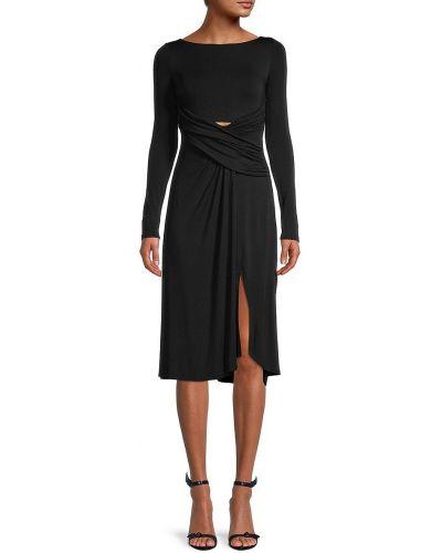 Sukienka długa z długimi rękawami - czarna Bailey 44