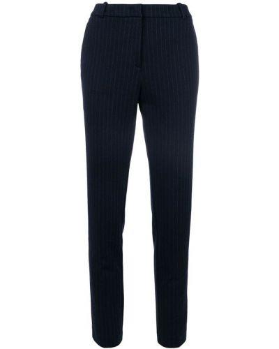 Синие брюки в полоску Kiltie
