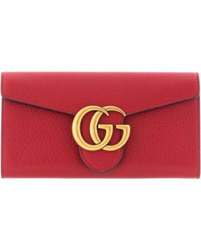 Красный кошелек Gucci