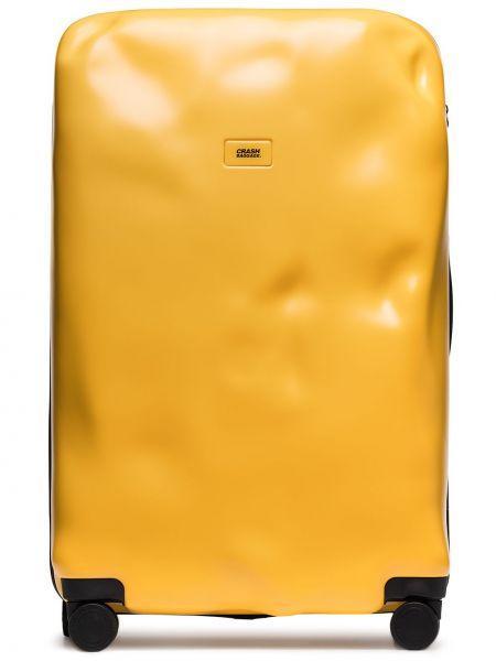 Желтая косметичка Crash Baggage