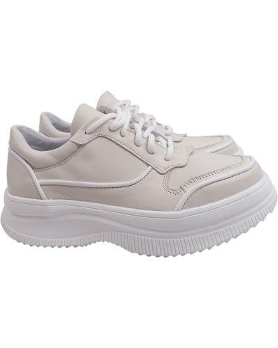 Кожаные кроссовки Masheros